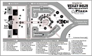 Wesley Bolin Plaza Map